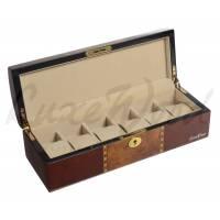 Шкатулка для хранения 6 часов Luxewood  LW807-6-33