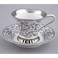 """Чашка чайная с блюдцем """"Byzantine"""" Rudolf Kampf 57120415-C936k"""