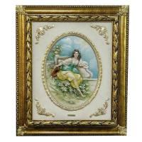 """Барельеф """"Франческа"""" Porcellane Principe 857/PP"""