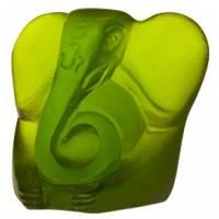 """Статуэтка """"Ganesha"""" маленькая зеленая """"Bouddha"""" Daum 05288-3/C"""