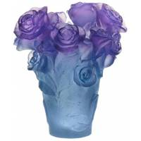 """Ваза для цветов """"Rose Passion"""" сине-фиолетовая (h=17) Daum 05287-3"""