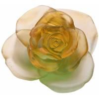 """Цветок розы """"Rose Passion"""" зелёно-оранжевый Daum 05290-6"""