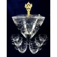 "Набор ""Luxembourg"" из чаши, 6-и чашек и половника для пунша FABERGE 43252"
