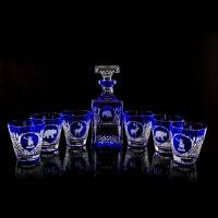 "Набор ""Tsar Hunt"" из штофа и 4-х стаканов для виски FABERGE 548354B"