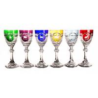 "Набор ""Tsar Hunt"" из 6-ти фужеров для вина FABERGE 552016"