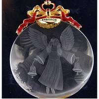 """Ёлочная игрушка """"Ангел с колокольчиком"""" FABERGE 631602"""