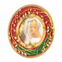 "Рамка для фото ""Ландыши"" Faberge 1238"