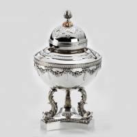 """Икорница """"Дельфин"""" Faberge 190180"""