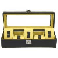 Шкатулка для хранения 5 часов Friedrich Lederwaren от Champ-Collection  26122-2