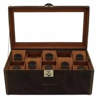 """Шкатулка для хранения 20 часов """"Cubano"""" Friedrich Lederwaren от Champ-Collection 27024-6"""