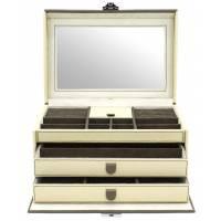 """Шкатулка для драгоценностей """"Calla"""" Friedrich Lederwaren от Champ Collection 27026-3"""
