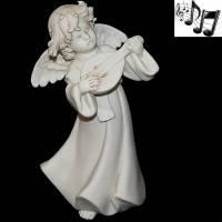 "Статуэтка музыкальная ""Ангел с мандолиной"" Venere Porcellane D Arte V/220 M"