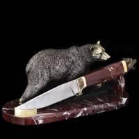 """Подарочный нож """"Медведь"""" Авторские работы RV0032067CG"""