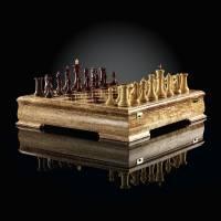 """Шахматы """"Стаунтон люкс кокоболо"""" ограниченная серия AVTSH40"""