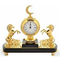 """Часы интерьерные """"Ислам"""" Златоуст Авторские работы RV25342CG"""