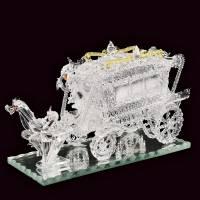 """Скульптура из стекла """"Свадебная карета"""" Авторские работы RV0032238CG"""