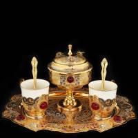 """Набор для кофе """"Пчёлы"""" Златоуст Авторские работы RV0029706CG"""