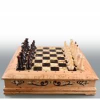 """Шахматы """"Ларец янтарный"""" RV6009CG"""