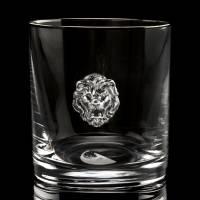 """Стакан для виски """"Лев"""" Авторские работы RV0018268CG"""
