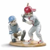 """Статуэтка """"Игроки в бейсбол"""" Lladro 01008797"""