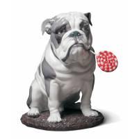 "Статуэтка собака ""Бульдог"" Lladro 01009234"