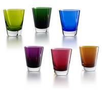 """Набор из 6-ти стаканов для сока """"Mosaique"""" Baccarat 2810602"""