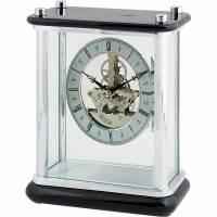 Часы настольные с механизмом скелетон Linea del Tempo S2504R