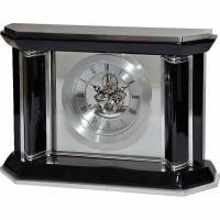 Часы настольные с механизмом скелетон Linea del Tempo S2560B