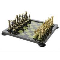 "Шахматы из камня ""Римские"" на подставках Каменные RV0016149CG"