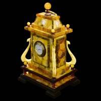 """Янтарные настольные часы """"Ампир"""" RV0037415CG"""