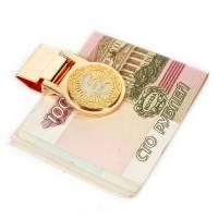 "Зажим для денег ""Евро"" Златоуст  RV0016194CG"