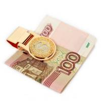 "Зажим для денег ""Доллар"" Златоуст RV0016193CG"