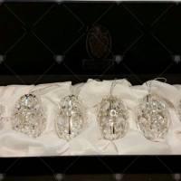 Набор Faberge из 6-и ёлочных игрушек 680506