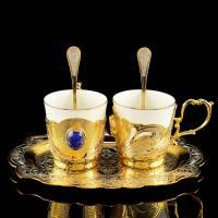 """Кофейный набор на 2 персоны """"Элита"""" Златоуст RV0038269CG"""