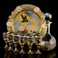 """Набор для вина """"Колибри"""" на 6 персон. Златоуст RV0044490CG"""