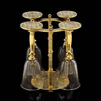 Набор для вина на 4 предмета Златоуст RV0017355CG
