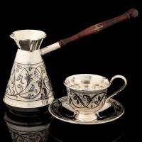 Набор: кофейная пара с туркой RV0048690CG