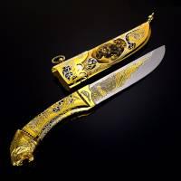"""Нож подарочный """"Тигр"""" Златоуст RV0046415CG"""
