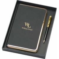 Набор: записная книжка А5, ручка шариковая 568410