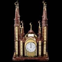 """Часы интерьерные из камня """"Мечеть"""" Златоуст RV0023009CG"""
