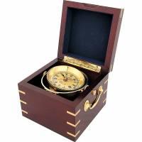 Часы в деревянной шкатулке Sea Power CK183