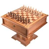 """Шахматный ларец деревянный эксклюзивный """"Средневековые войны"""" RV0046860CG"""