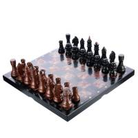 Шахматы из камня (лемизита) RV0019999CG