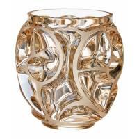 """Ваза для цветов золотая (малая) """"Tourbillons"""" Lalique 10543800"""