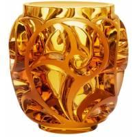 """Ваза для цветов золотая """"Tourbillons"""" Lalique 10410700"""