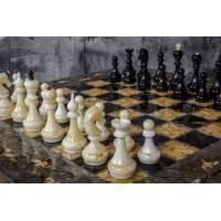 """Шахматы """"Готика"""" (тонированная карельская береза) ES039"""