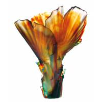 """Ваза для цветов """"Palm"""" большая (h=52) Daum (Лимитированная серия 388 экз.) 03458"""