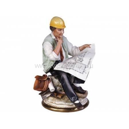 """Скульптура  Principe """"Инженер"""" 50412"""