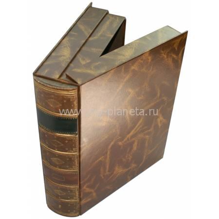 Коробка для документов, корешок ручной работы M815