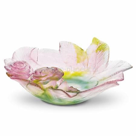 """Блюдо для фруктов """"Roses"""" малое Daum 02571"""